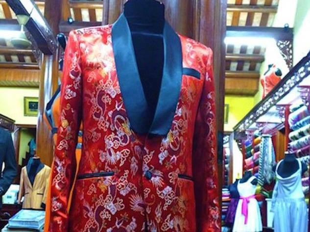 Photo of tailored jacket souvenir